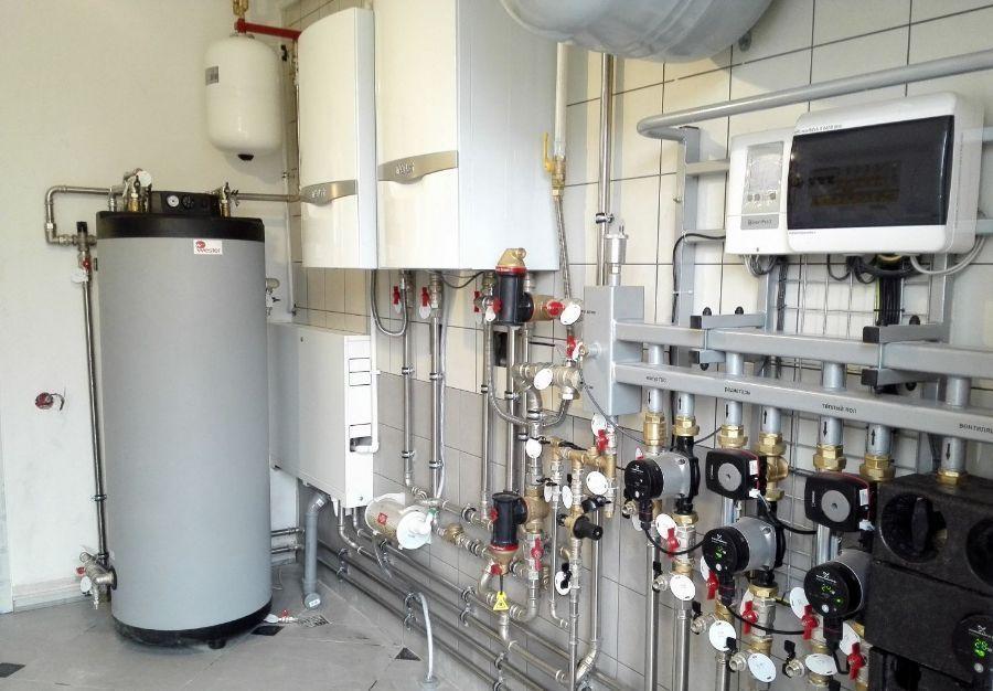 умная система отопления, автоматизированная котельная