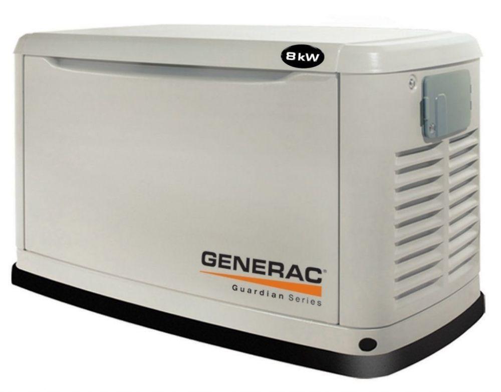 монтаж газового генератора