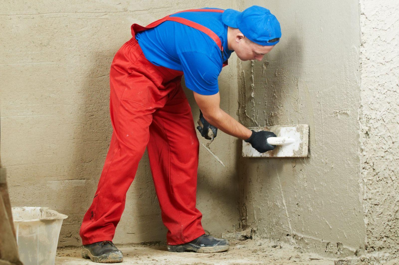 подготовка стен к монтажу системы отопления