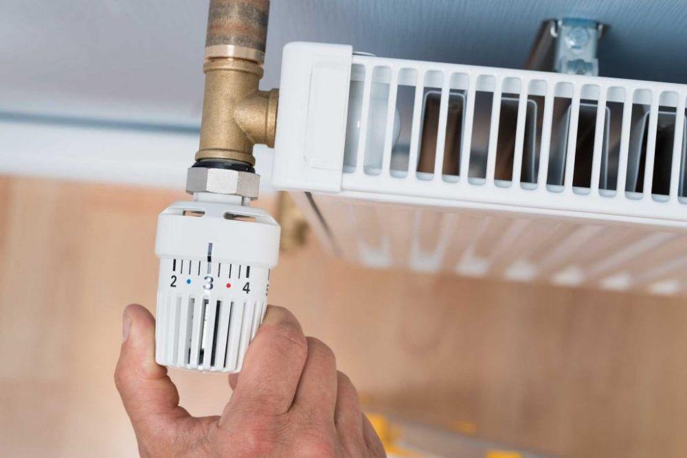 прерывание теплоносителя с помощью термоголовки